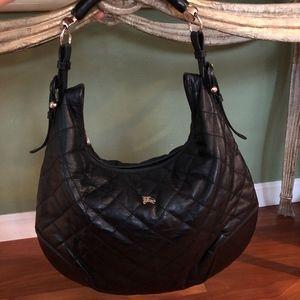 Burberry Quailted Hobo bag